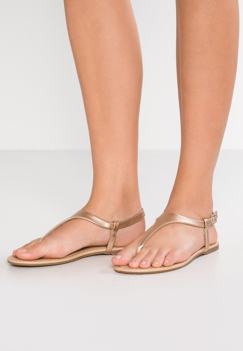 Anna Field - Flip Flops - rose gold