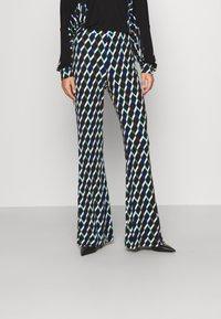 Diane von Furstenberg - BROOKLYN PANTS - Trousers - black - 0