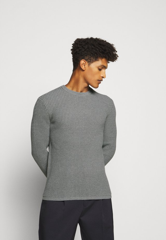 PHANOS CREW - Neule - grey heather