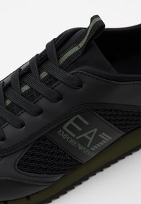 EA7 Emporio Armani - Trainers - triple black/grape - 5