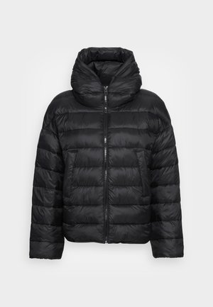 RECYCLED NO DOWN CAPE - Light jacket - black