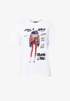 DESIGNED BY M. CHRISTIAN LACROIX - T-shirt imprimé - white
