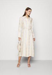 IVY & OAK - BECCA - Day dress - beige check - 1