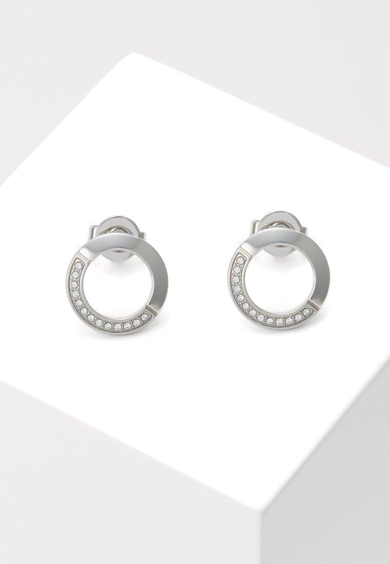 BOSS - Náušnice - silver-coloured