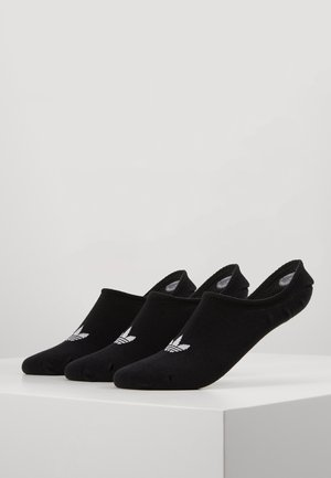 LOW CUT SOCK 3 PACK - Skarpety - black