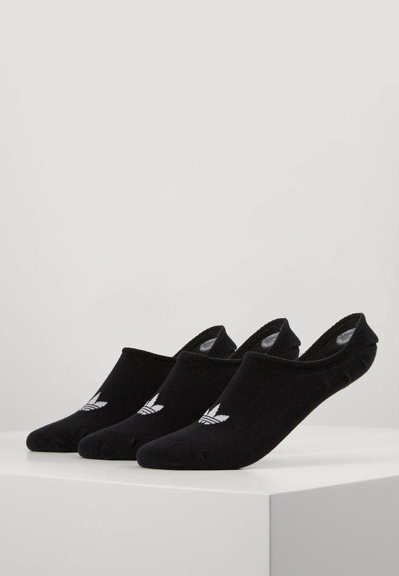 adidas Originals - LOW CUT SOCK 3 PACK - Socks - black