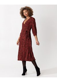 Indiska - Day dress - red - 0