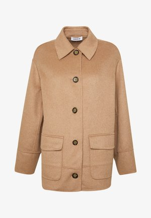 BENJI COAT - Abrigo corto - beige