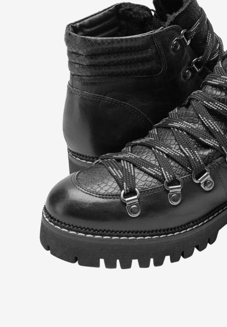 Next BLACK SIGNATURE COMFORT PREMIUM HIKER BOOTS Ankle Boot black/schwarz