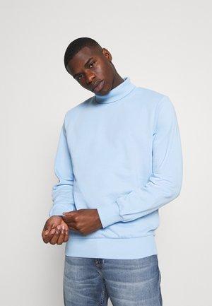 JJFOLD HIGH NECK - Sweatshirt - powder blue