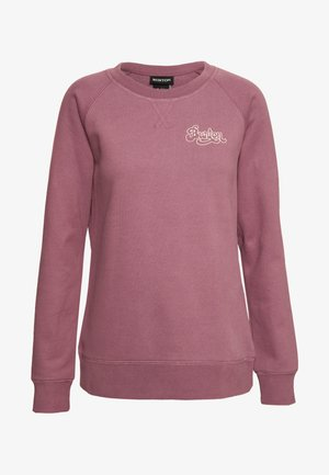 KEELER CREW - Sweatshirt - rose brown