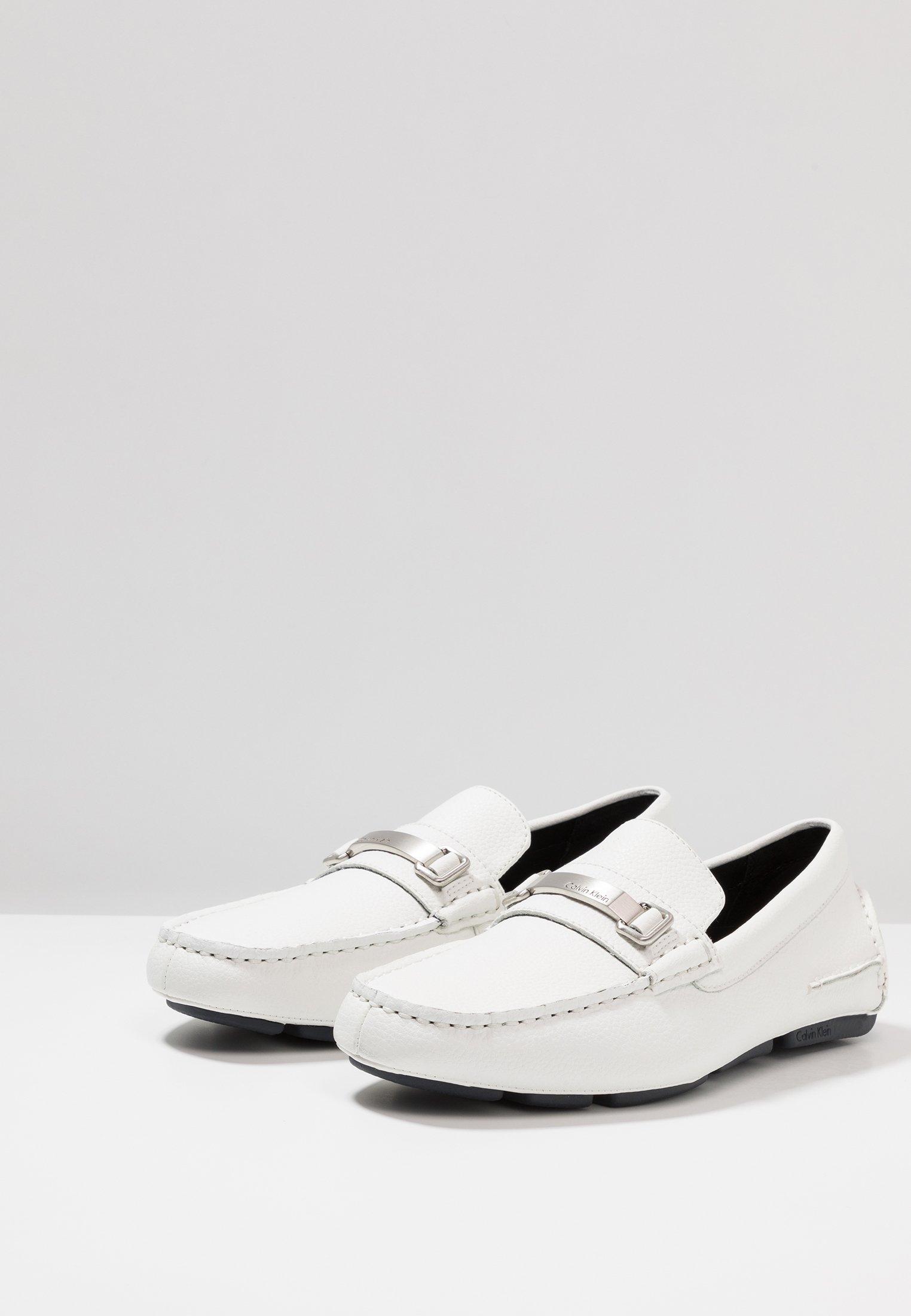 Calvin Klein MIKOS Mockasiner white