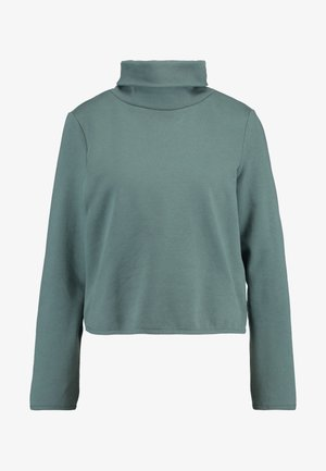ONLNEO COWLNECK - Sweatshirt - balsam green