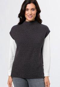 zero - Basic T-shirt - anthracite-m - 0
