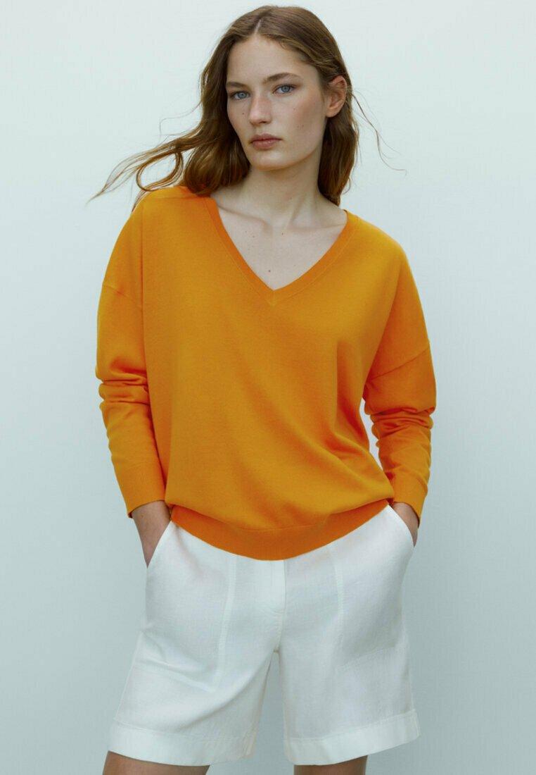 Massimo Dutti - Sweatshirt - orange
