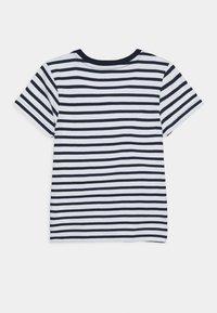 Friboo - 5 PACK - Print T-shirt - grey/dark blue/turquoise/white - 2
