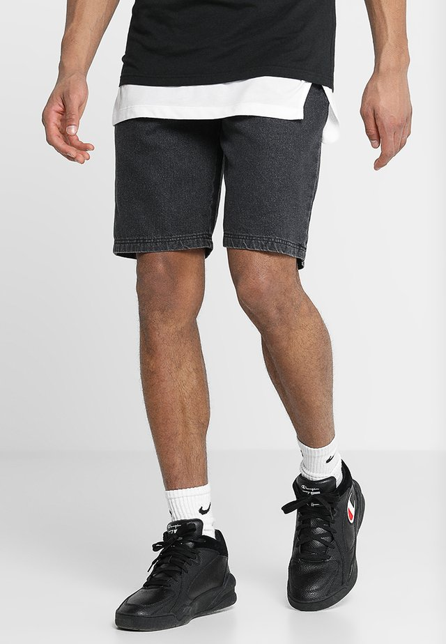 NBA CHICAGO BULLS SHORT - Korte broeken - black