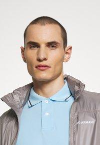 Emporio Armani - Polo shirt - baby blue - 3