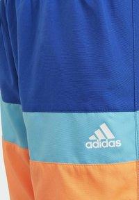 adidas Performance - COLORBLOCK SWIM SHORTS - Swimming shorts - blue - 4