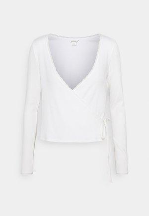 NADJA - Long sleeved top - white light