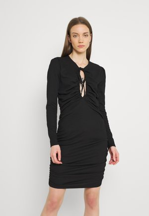 GORGEOUS KEYHOLE DRESS - Cocktail dress / Party dress - black