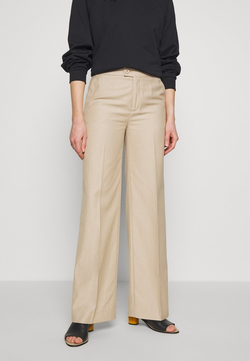 BLANCHE - MAY PANTS - Trousers - lavender fog