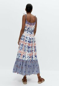 Uterqüe - Day dress - blue - 2