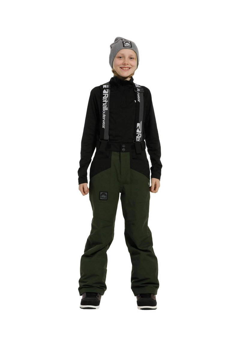 Rehall - DIGGER-R - Snow pants - olive