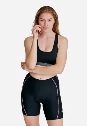 Pyjamahousut/-shortsit - black/pink