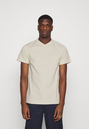 BASE-S V T S\S - Basic T-shirt - whitebait