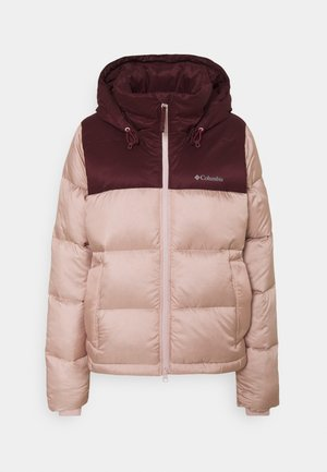 BULO POINT JACKET - Down jacket - mineral pink iridescent/malbec