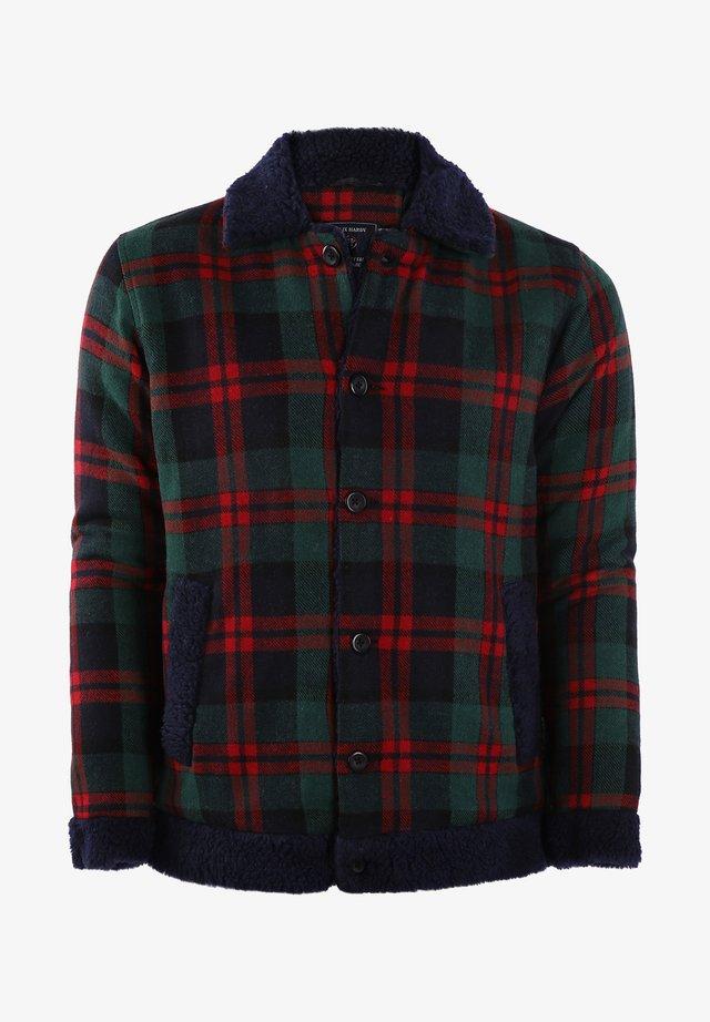 Summer jacket - green-red