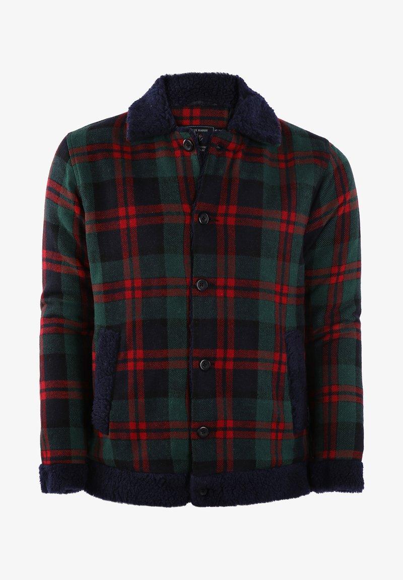 Felix Hardy - Summer jacket - green-red