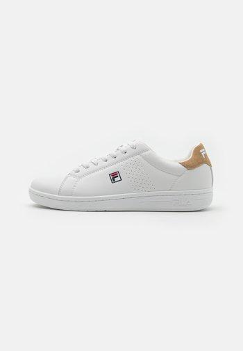 CROSSCOURT 2 - Sneakers - white/kaki