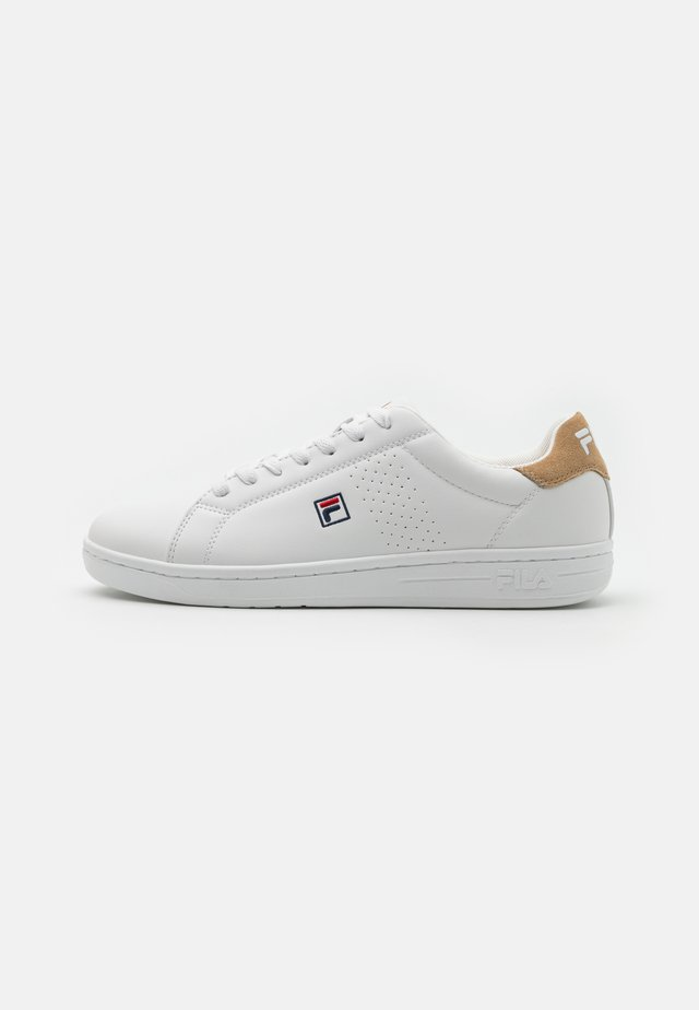 CROSSCOURT 2 - Trainers - white/kaki