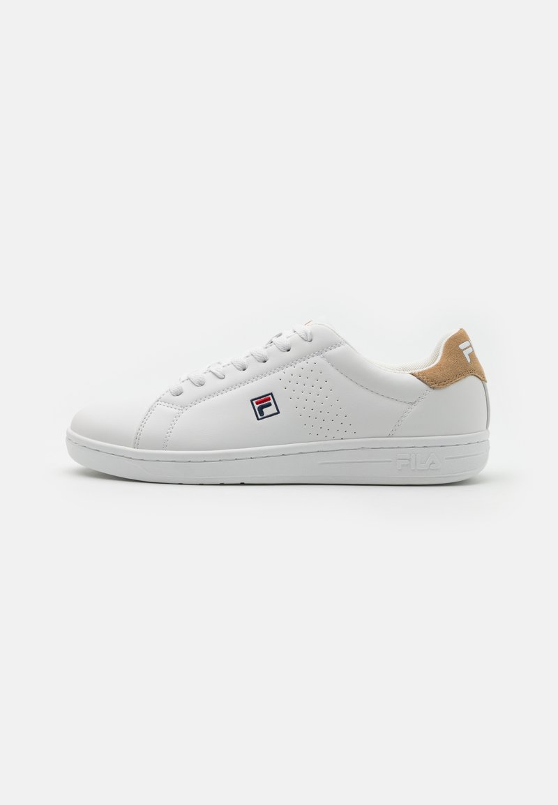 Fila - CROSSCOURT 2 - Sneakers - white/kaki