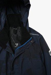 Brunotti - GULLIES BOYS SNOW JACKET - Snowboardová bunda - space blue - 4