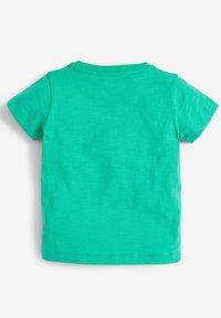 Next - SHORT SLEEVE - Print T-shirt - green - 1