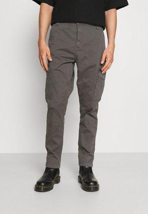 ANDERS - Cargo trousers - dark grey