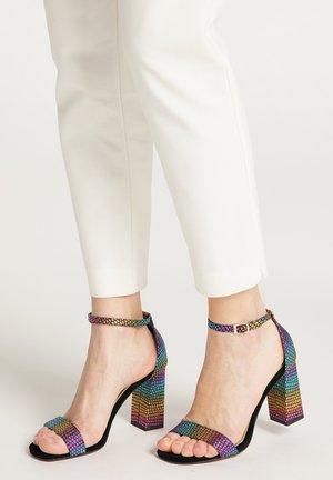 Sandalen met hoge hak - multicolour