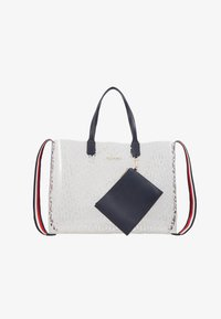 Tommy Hilfiger - ICONIC TOTE TRANSPARENT - Tote bag - white - 4