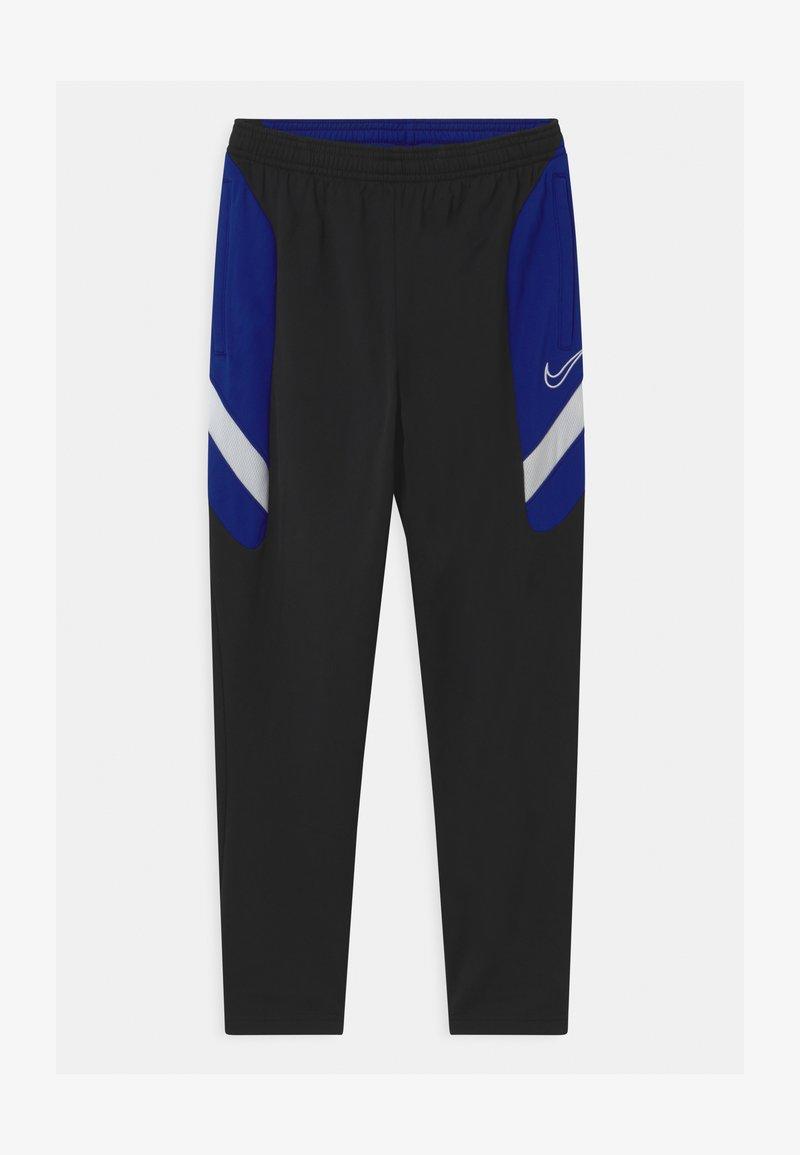 Nike Performance - DRY ACADEMY - Tracksuit bottoms - black/deep royal blue/white