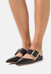 Bally - JEMINA FLAT - Pantofle - black - 0