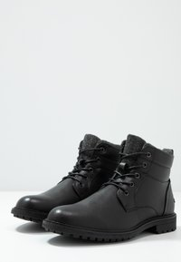 Topman - PICKFORD - Stivaletti stringati - black - 2