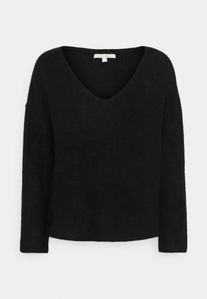 STRUCTURED  - Jumper - deep black