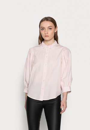 SLFROMANCE 3/4 PUFF SLEEVE - Button-down blouse - primrose pink