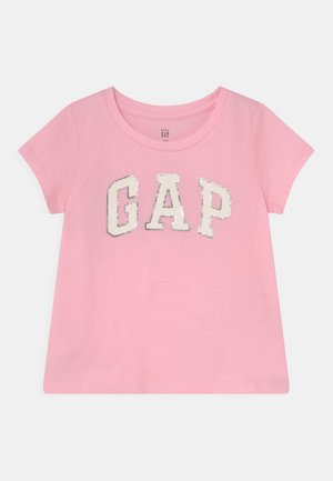 TODDLER GIRL LOGO - T-shirt imprimé - old school pink
