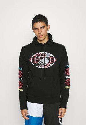 GLOBAL HOODIE - Sweater - black