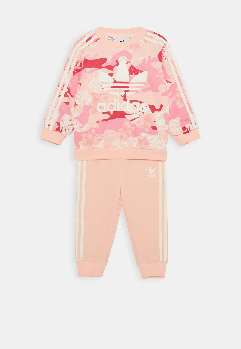 adidas Originals - CREW SET - Sweatshirt - light pink