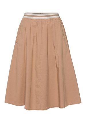 DESERT - A-line skirt - braun